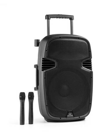 Malone Bushfunk 45, aktívny PA reproduktor, 900 W, bluetooth, akumulátor, USB, SD, MP3 VHF
