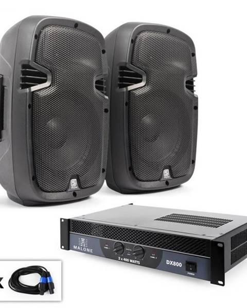 "Electronic-Star Electronic-Star PA Set ""SPJ Boom"", dva 8"" reproduktory & 800 W zosilňovač"