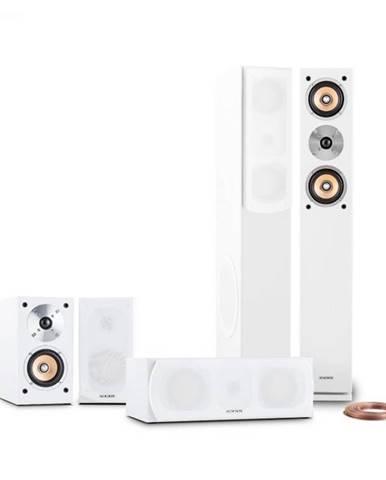Auna Linie-501-WH, 350 W, 5.0 domáce kino, zvukový systém, RMS