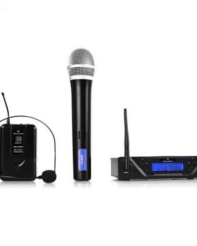 Malone UHF-450 Duo, Bezdrôtový mikrofónový set, 2 kanály