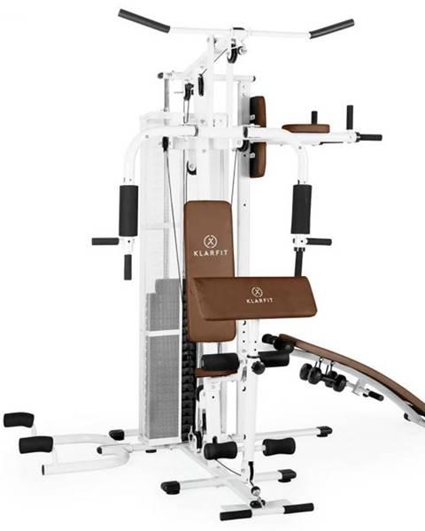 KLARFIT KLARFIT Ultimate Gym 5000, biela, multifunkčná fitnes stanica