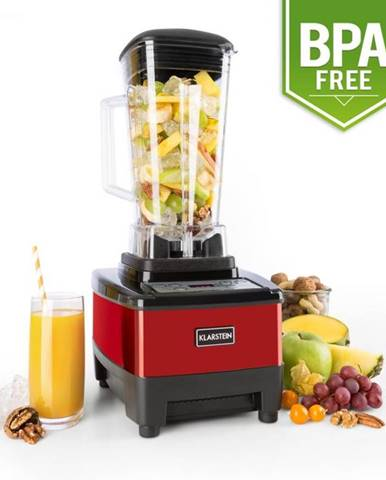 Klarstein Herakles-4G-E, 1500 W, 2 litre, stolný mixér, červený, green smoothie, bez BPA