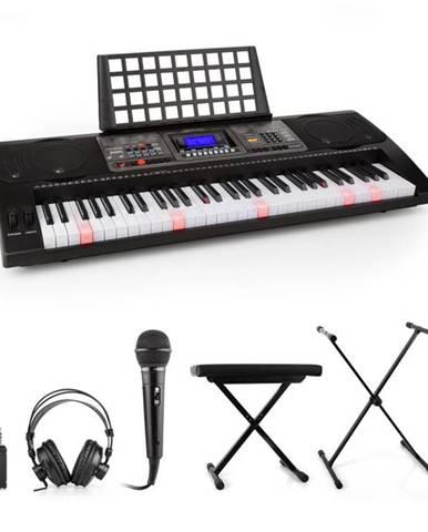 SCHUBERT Etude 450, nácvičný elektronický klavír, slúchadlá, mikrofón, stojan, stolička, adaptér