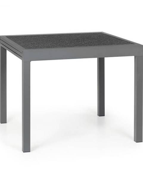 Blumfeldt Blumfeldt Tenerife, záhradný stolík, 90 x 90 cm, hliník, sklo, granit