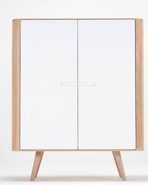 Gazzda Skriňa z dubového dreva Gazzda Ena, 90×110cm