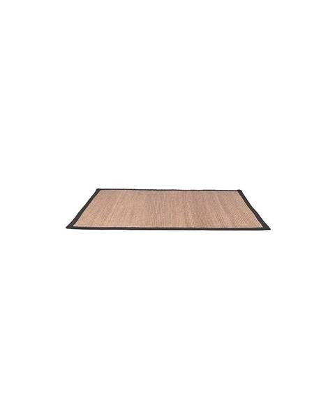 LABEL51 Koberec z konopného vlákna LABEL51 Black, 140 x 160 cm
