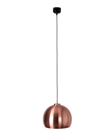 Stropné svietidlo v medenej farbe Zuiver Big Glow
