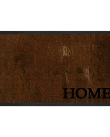 Hnedá rohožka Hansa Home Printy, 45 × 75 cm