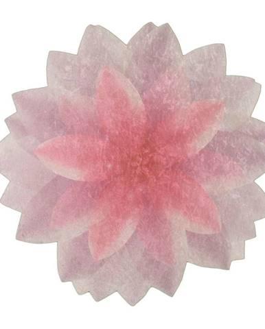 Koberec Vitaus Flowerina, ⌀ 80 cm