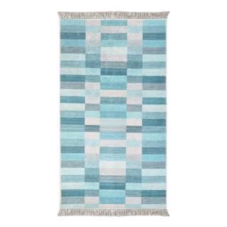 Koberec Vitaus Hali Kucuk Kutu Mavi, 80×150cm
