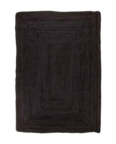 Čierny koberec HoNordic Bombay Rug, 180 x 120 cm