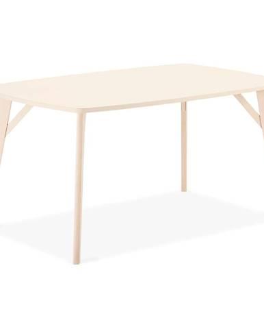 Jedálenský stôl z bukového dreva FurnhoPenang, 150 x 90 cm
