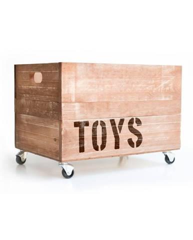 Drevená škatuľa na hračky Really Nice Things Toys