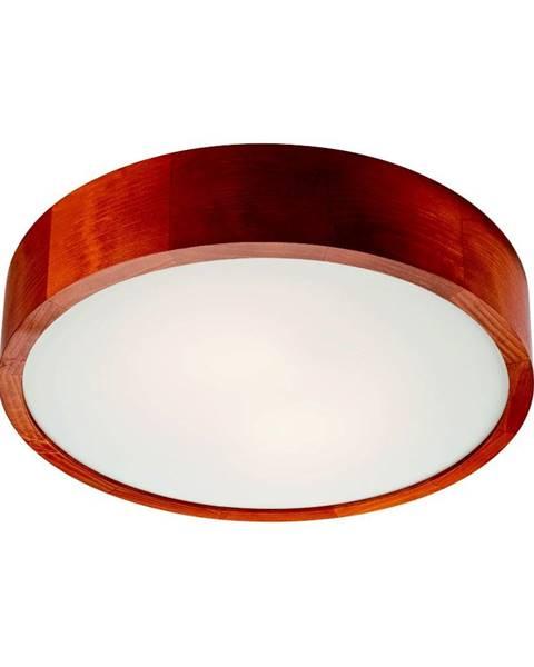 LAMKUR Hnedé kruhové stropné svietidlo Lamkur Plafond, ø 37 cm
