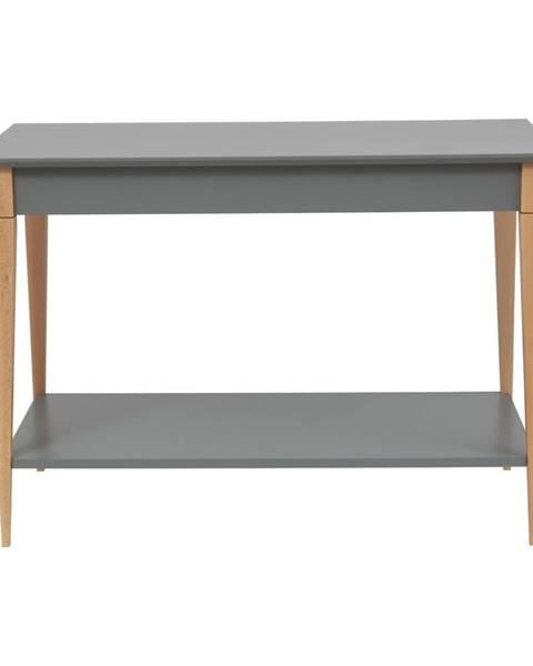 Ragaba Sivý konzolový stolík Ragaba Mimo, šírka 85 cm