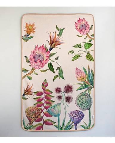 Osuška Madre Selva Flores Salvajes, 90×150 cm
