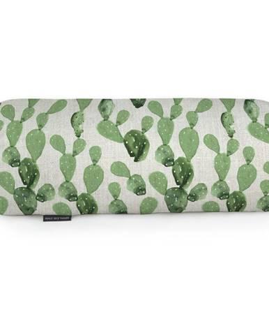 Vankúš z mikrovlákna Surdic Tubo Cactus, 50×20cm