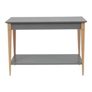 Sivý konzolový stolík Ragaba Mimo, šírka 85 cm