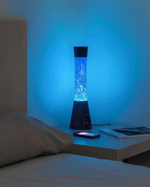 InnovaGoods Stolová vodná lampa s reproduktorom InnovaGoods Flow Glitter Lamp
