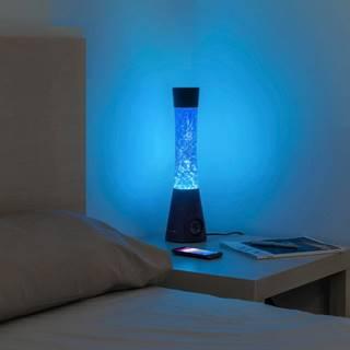 Stolová vodná lampa s reproduktorom InnovaGoods Flow Glitter Lamp
