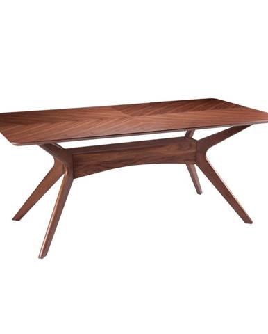 Jedálenský stôl vdekore orechového dreva sømcasa Helga, 180x95cm