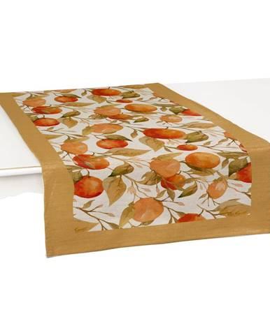 Sada 2 behúňov na stôl Linen Couture Oranges