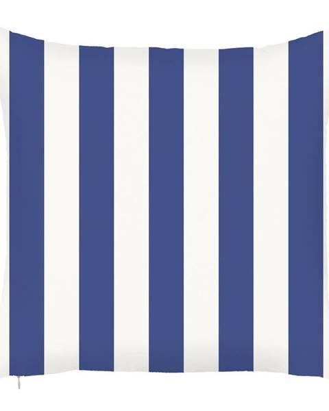 Apolena Modrá obliečka na vankúš Mike&Co.NEWYORK Sail Stripes, 43 x 43 cm
