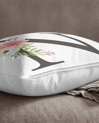 Obliečka na vankúš Minimalist Cushion Covers Floral Alphabet N, 45 x 45 cm
