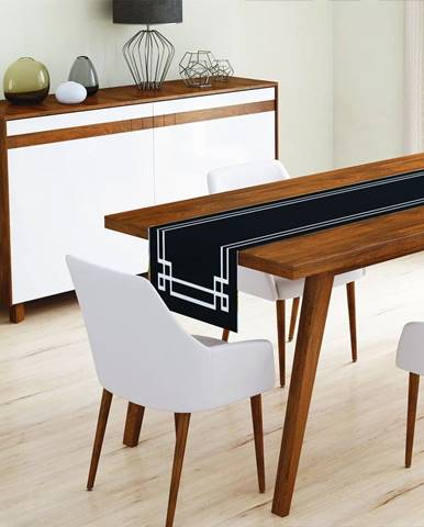 Behúň na stôl z mikrovlákna Minimalist Cushion Covers Mulia, 45x145cm