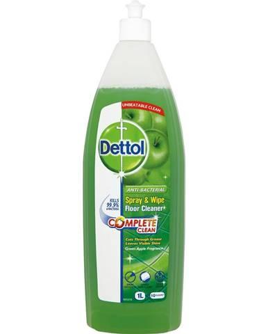 Antibakteriálny čistič podláh s vôňou zeleného jablka Dettol, 1 l
