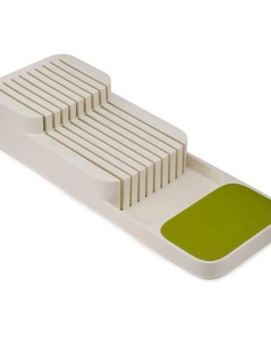 Bielo-zelený organizér na nože Josoph Josoph DrawerStore