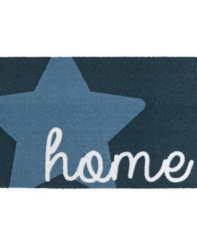 Modrá rohožka Zala Living Design Star Home Blue, 50×70cm