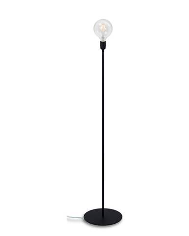 Čierna stojacia lampa Bulb Attack Uno Basic
