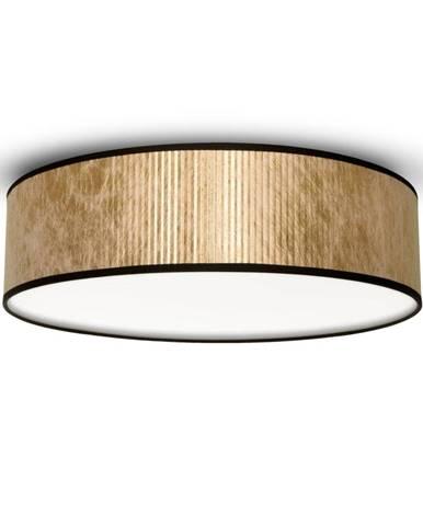 Stropné svietidlo v zlatej farbe Bulb Attack Tres, ⌀ 40 cm