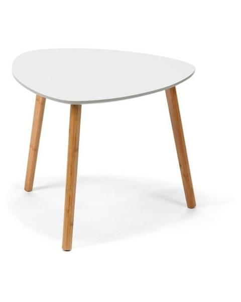 loomi.design Svetlosivý konferenčný stolík loomi.design Viby