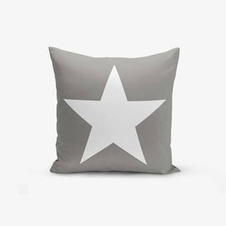 Obliečka na vankúš s prímesou bavlny Minimalist Cushion Covers Starisomo, 45×45 cm