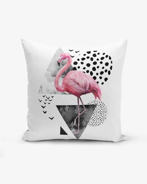 Minimalist Cushion Covers Obliečka na vankúš Minimalist Cushion Covers Martı Flamingo, 45 × 45 cm