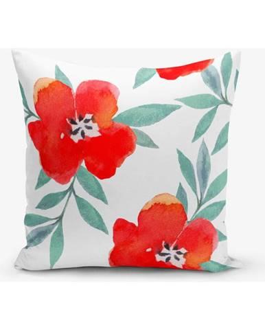 Obliečka na vankúš s prímesou bavlny Minimalist Cushion Covers Florita, 45×45 cm