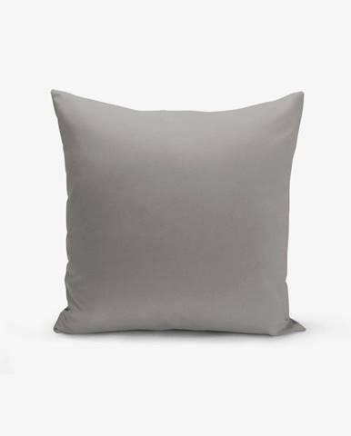 Sivá obliečka na vankúš Minimalist Cushion Covers Düz, 45 × 45 cm