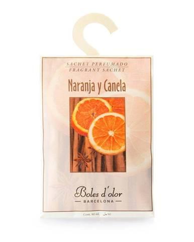 Vonné vrecúško s vôňou pomaranča a škorice Boles d´olor