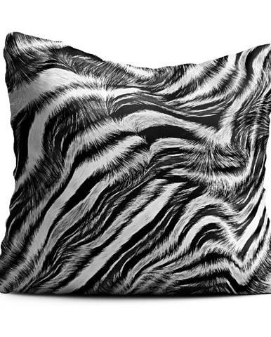 Vankúš Oyo home Zebra, 40x40cm