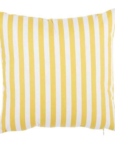 Žltá bavlnená obliečka na vankúš Mike&Co.NEWYORK Tureno, 35 x 35 cm
