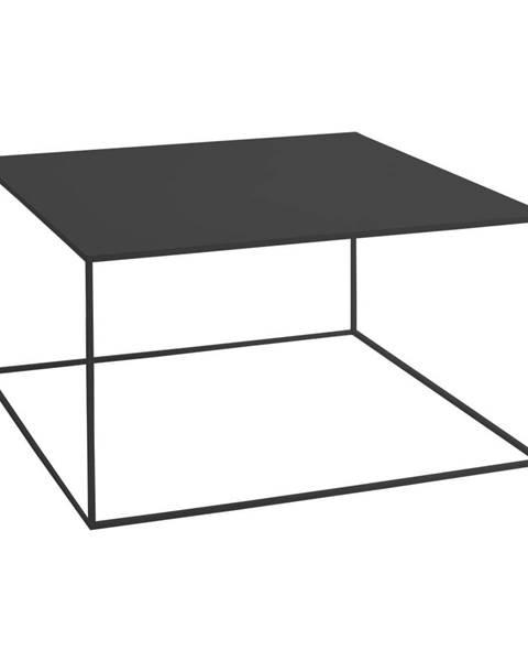 Custom Form Čierny konferenčný stolík Custom Form Tensio, 80 × 80 cm