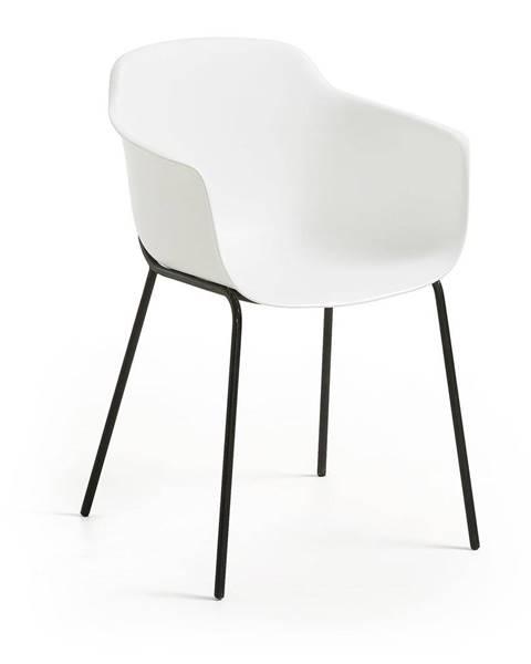 La Forma Biela jedálenská stolička La Forma Khasumi