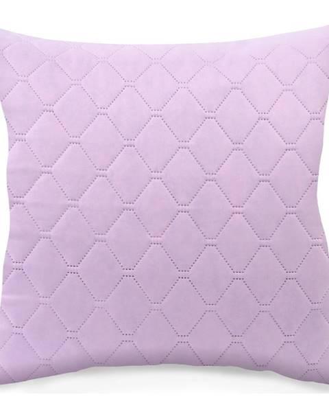 DecoKing Súprava 2 fialovoružových obliečok na vankúš z mikrovlákna DecoKing Axel, 40 x 40 cm