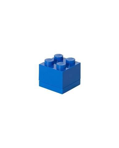 Modrý úložný box LEGO® Mini Box Blue