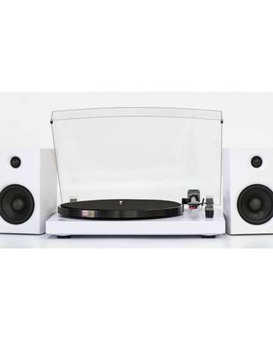 Biely gramofón GPO Picadilly White