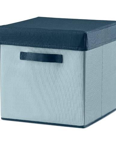 Modrý úložný box Flexa Room