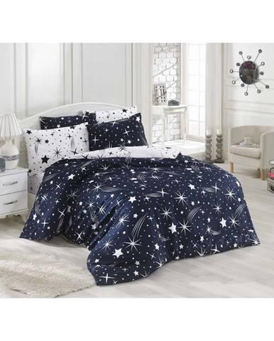 Obliečky s plachtou na dvojlôžko Night Muse, 200×220 cm