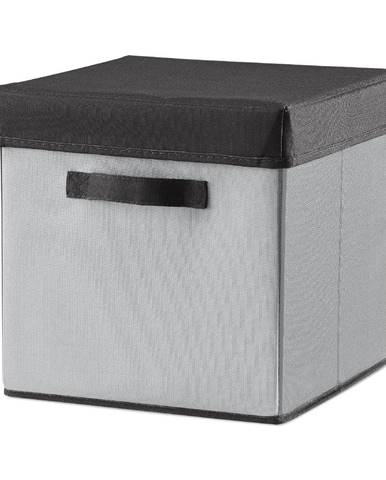 Sivý úložný box Flexa Room